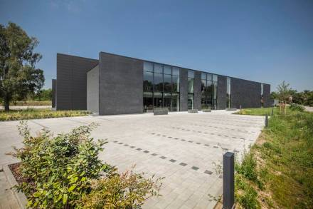 Das Logistikcenter von König in Karlsruhe.