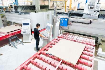 Der Firmensitz von LSI Stone in Pedreiras Portugal, etwa 30 km östlich der Hafenstadt Nazaré.
