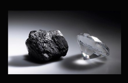 The Cool Earth theory gives a new explanation why in the Archaean era (between 4 billion and 2.5 billion years ago) not only lumps of graphite were formed but also diamonds. Photo: QUT