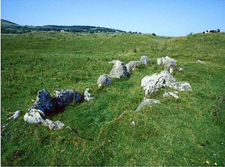A likely parent-offspring relation was discovered for individuals in the Listhogil Tomb at the Carrowmore site and Tomb 1 at Primrose Grange, about 2 km distance away from each other. Photo: Göran Burenhult
