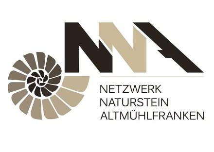 Das Logo des Netzwerks Naturstein Altmühlfranken.