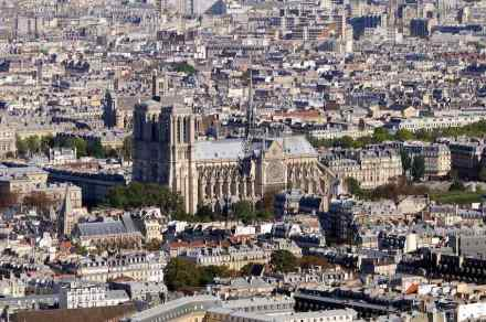 "The Cathedral of Notre-Dame de Paris before the fire. Photo: Taxiarchos 228 / <a href=""https://commons.wikimedia.org/""target=""_blank"">Wikimedia Commons</a>"