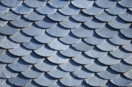 Slate on a roof. Photo: Susen Reuter