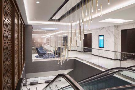 CID-Awards: Commercial Tile Design. Project: United Polaris. Designer: Fiandre. Location: Newark, NJ & San Francisco, CA.