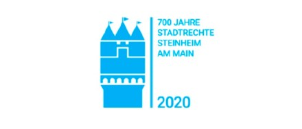Logo der Feierlichkeiten zum Steinheimer Jubiläum.