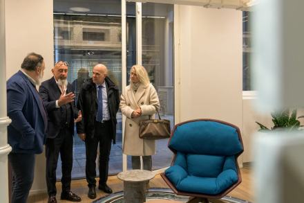 Opening of the new Budri Showroom in downtown Milan.