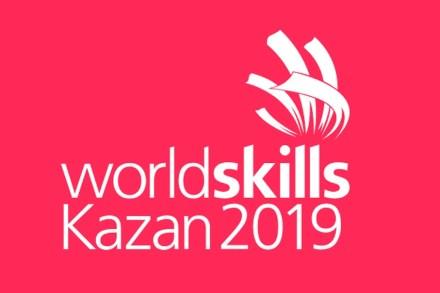 The logo of WorldSkills 2019.