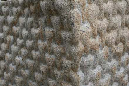 "Peter Randall-Page: ""Envelope of Pulsation (For Leo)"". Photos: Peter Randall-Page"