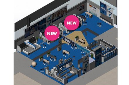 Thibaut's booth at Marmomac 2019 in Hall 4, F2-F3-G1-G2-G3.
