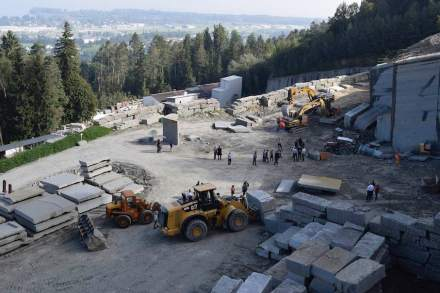 Quarry Day 2019 in Switzerland.