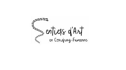 Logo of the Sentiers d'art (Trails of Art).