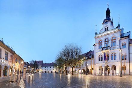Atelier Arhitekti: Redesign of the old market square in Novo Mesto. Photo: Boštjan Puclej