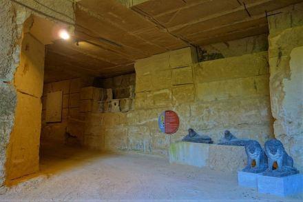 Grassi Pietre: Company Museum in the underground quarry.