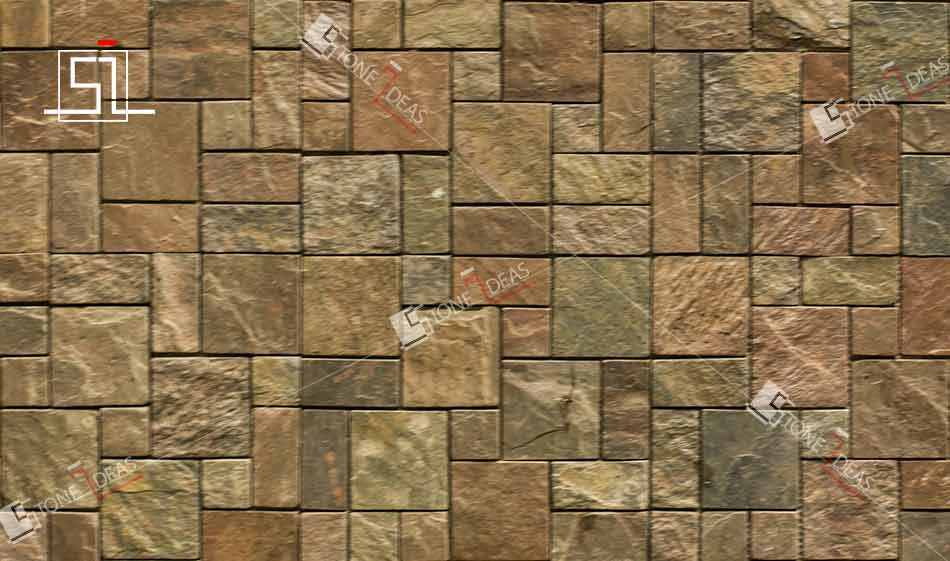 Large Brown Marble Image Texture Tile