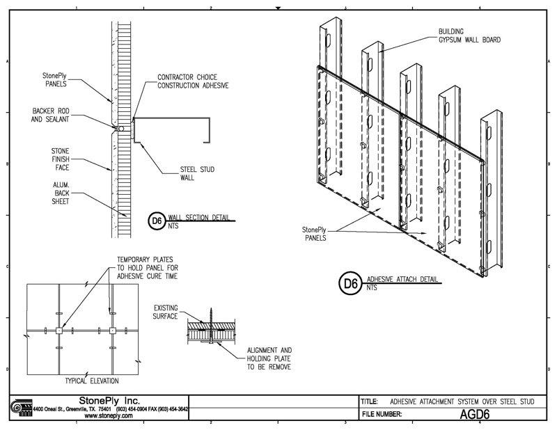 Metal Stud Ceiling Details