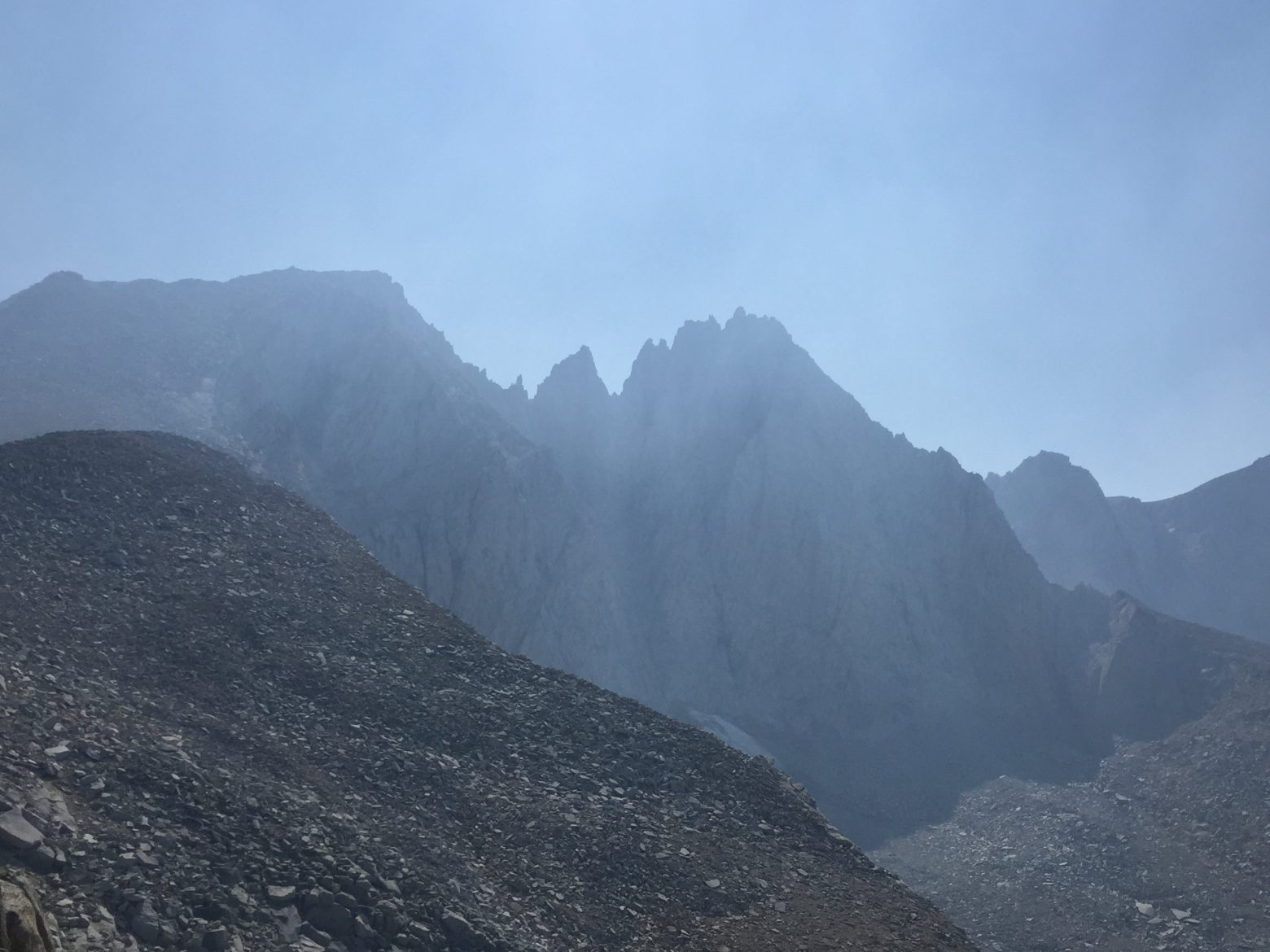 Climbing up to Forester Pass (1)