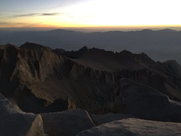 Sunrise on the summit of Mt. Whitney (11)