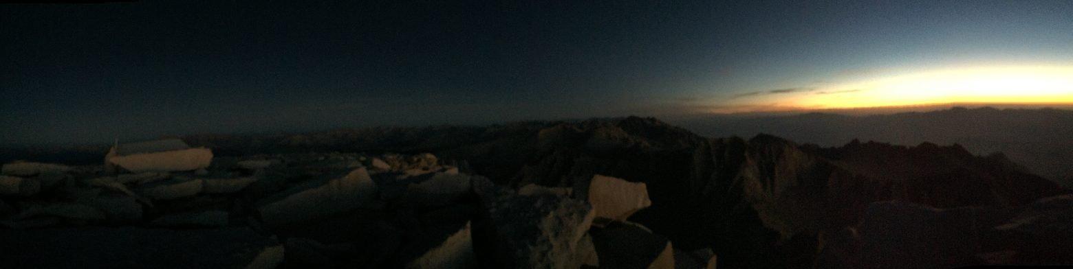 Sunrise on the summit of Mt. Whitney (6)