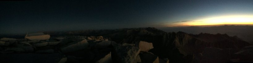 Sunrise on the summit of Mt. Whitney (6)