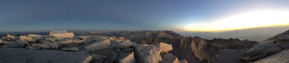 Sunrise on the summit of Mt. Whitney (9)