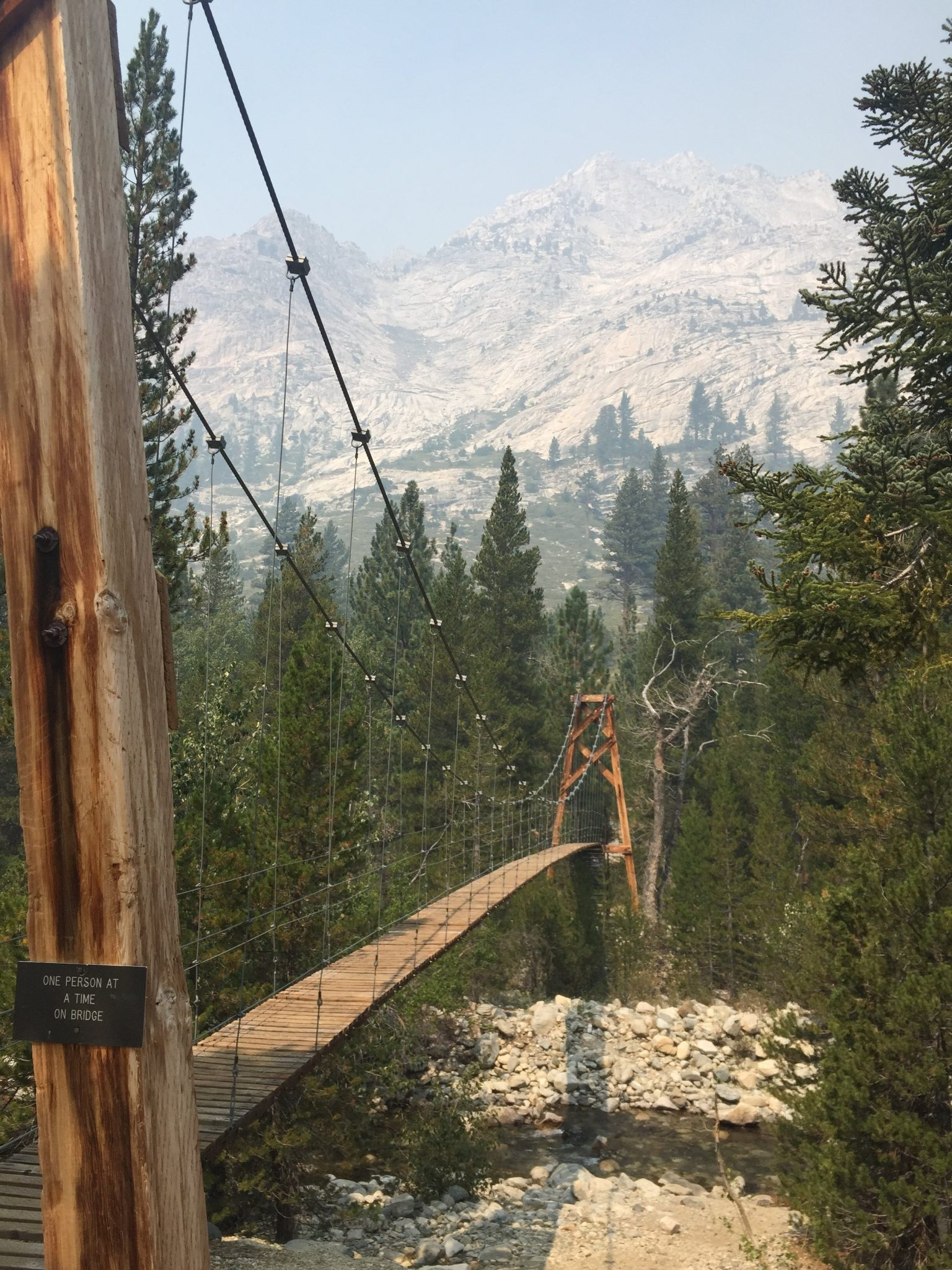 Suspension Bridge over Woods Creek (1)