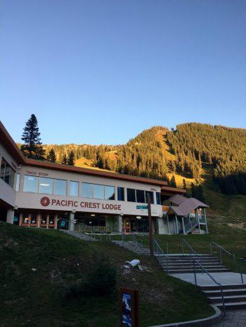 Stevens Pass ski area building
