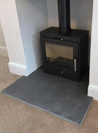 Natural Riven Slate Hearths   Stone & Slate (tiles)
