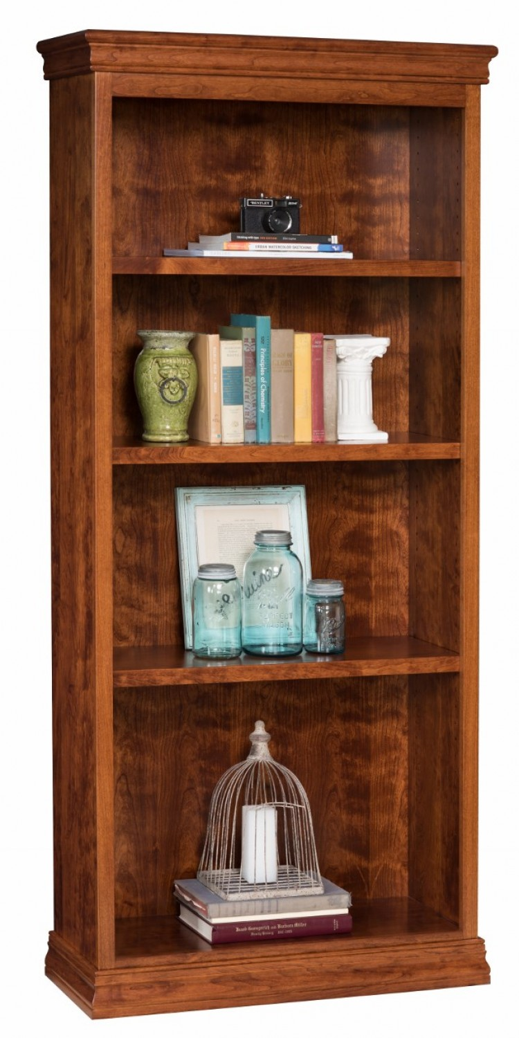 Wide High Bookcase 48 36