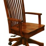 Rosewood Bent Paddle Desk Chair 203 80hbda 27 Office Furniture Office Chairs Stone Barn Furnishings Inc