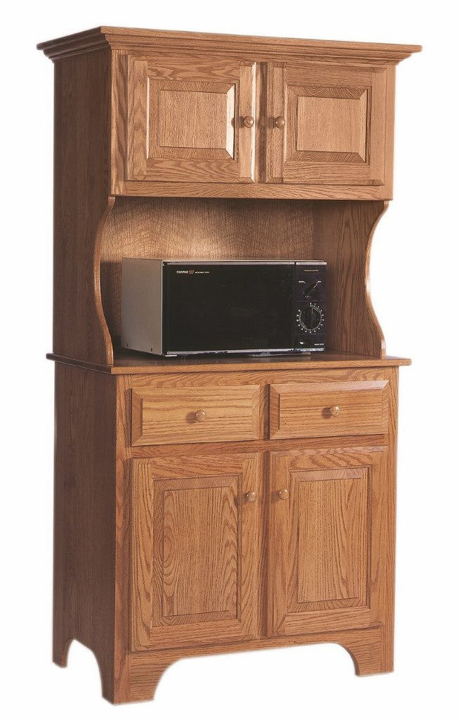 Microwave Cabinet Hutch  BestMicrowave