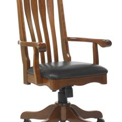 Wooden Office Chair Owl For Kids Hampton 203 12495stb 72 Furniture