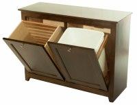 Waste Bin/Hamper Tilt Out : 390-W02850-103-O : Wood ...
