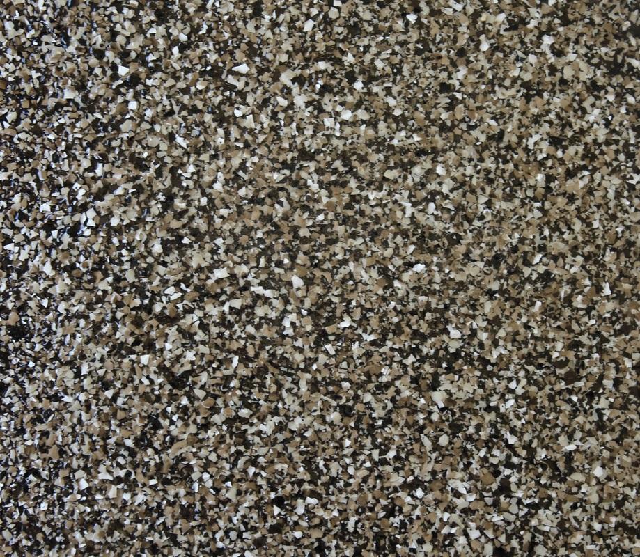 Epoxy Chip Floor  Stone Bond Construction Inc