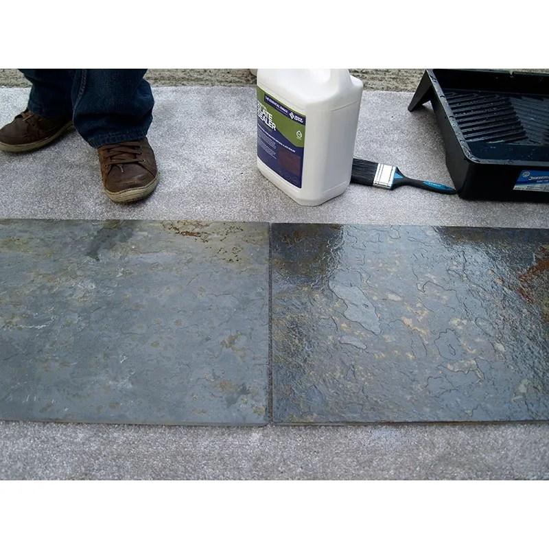 essential slate sealer satin finish stain resistant coating stonecare4u