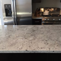 Kitchen Tile Countertops Diy Cabinet Doors River White Granite - Stone City ...