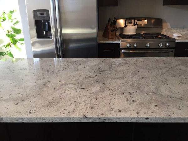 River White Granite Kitchen Countertops