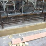 Betty Tea Room Harrogate during stone repair