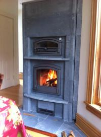 Masonry Heaters - Stone Comfort Masonry Tulikivi Fireplace