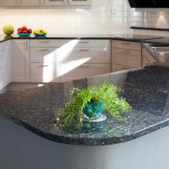 Blue Pearl Granite Kitchen Cherry Cabinets Available At Unbeatable Prices Stone