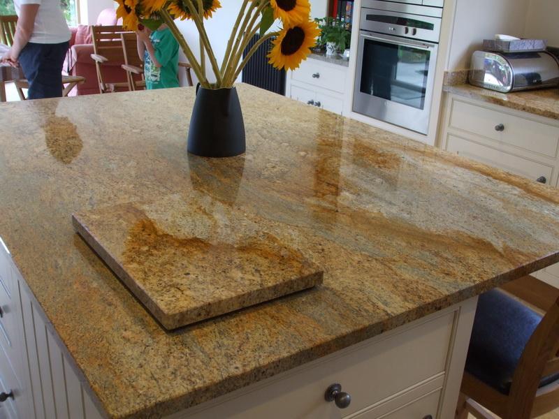 white kitchen island cart mats amazon kashmir gold granite - stone culture