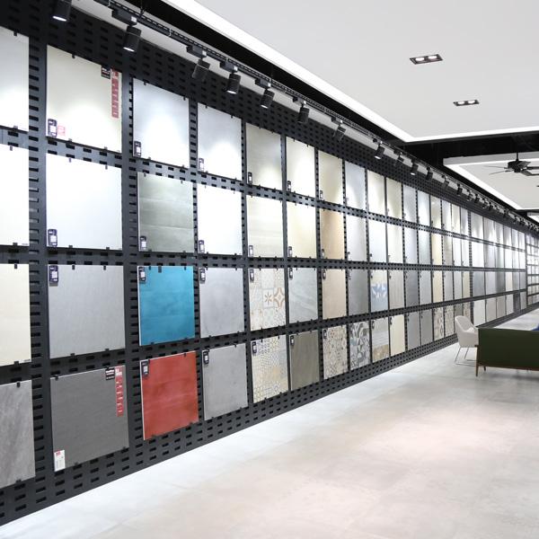 eye catching ceramic tile display racks