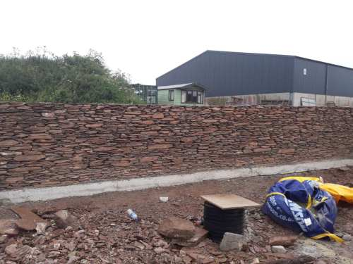stone walling torbay