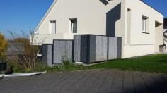 Stone Fence : Gabion autour d'une maison