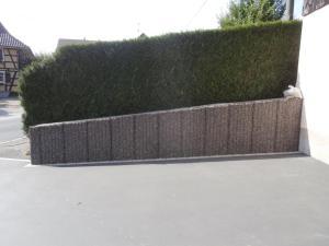 Parement mur exterieur long