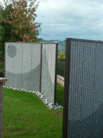 Panneau en gabion Stone Fence