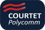 Courtet Polycomm logo