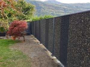 Belle clôture minérale