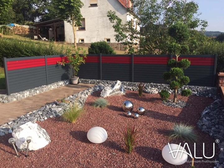 Claustra exterieur aluminium jardin japonais