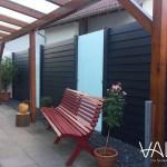 Claustra exterieur aluminium veranda