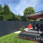 Claustra exterieur aluminium jardin